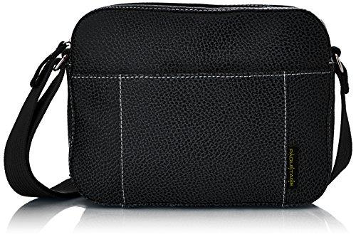 Paquetage - Am, Borsa a tracolla da donna, nero (noir 001), Taille Unique