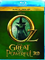 Oz the Great and Powerful (Blu-ray 3D + Digital Copy) from Walt Disney Studios Home Entertainment