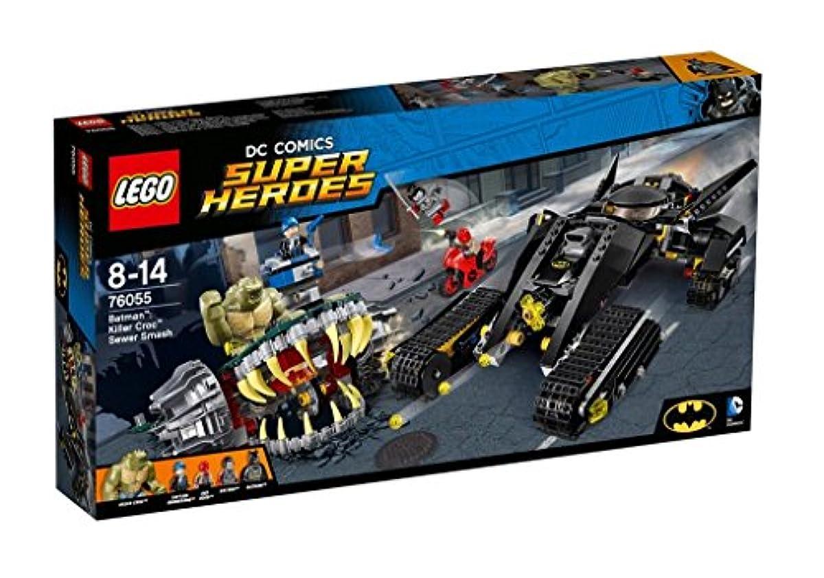 [해외] 레고 (LEGO) 슈퍼히어로즈 배트맨:킬러 크록 하수도 에서의 대결 76055-76055 (2016-06-03)