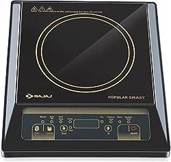 Bajaj Popular Smart 1400-Watt Induction Cooker (Black)