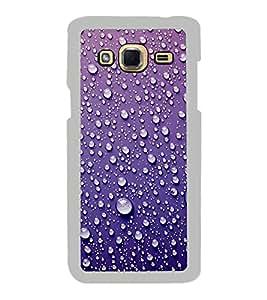 Water Droplets 2D Hard Polycarbonate Designer Back Case Cover for Samsung Galaxy J3 2016 :: Samsung Galaxy J3 2016 Duos :: Samsung Galaxy J3 2016 J320F J320A J320P J3109 J320M J320Y
