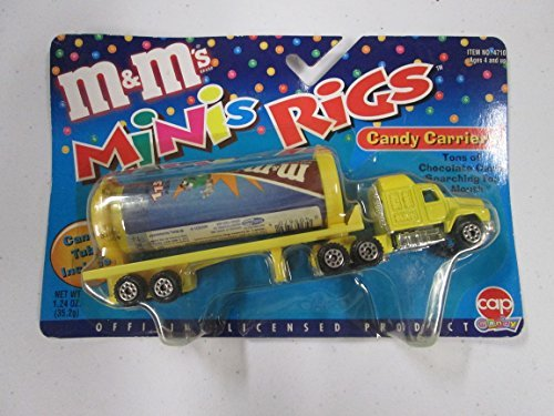 M&M's Mini Rigs Candy Carriers Yellow - 1