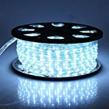 Christmas Lighting LED Rope Light 150ft Waterproof Flexible Strip Indoor and Outdoor Patio