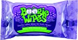 Boogie Wipes Saline Travel Pack Nose Wipes, Grape Scent, 10 Count (Pack of 24)
