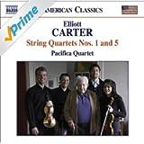 Carter, E.: String Quartets Nos. 1 and 5