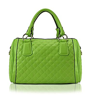 Scarleton Quilted Satchel H106429A - Apple Green