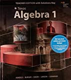img - for (Texas) Algebra 1 (Teacher Edition with Solutions Key) Part 1 of the Go Math Series book / textbook / text book