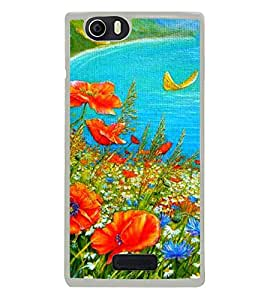 Colourful Painting 2D Hard Polycarbonate Designer Back Case Cover for Micromax Canvas Nitro 2 E311