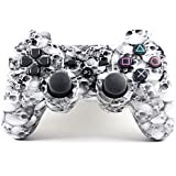 Yanx® Wireless Bluetooth Double Vibration Gamepad Game Gaming Controller for Ps3(SKULL)