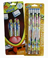 Nickelodeon You're A Winner 12pc Spongebob Pencil Pack - Spongebob Pencil Set (2pc)