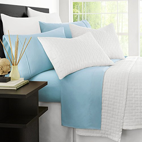 Zen-Bamboo-Luxury-Bed-Sheets-HIGHEST-QUALITY-Ultra-Soft-4-Piece-Eco-Friendly-Bamboo-Bed-Sheets-Hypoallergenic-and-Wrinkle-Free-Twin-Sky-Blue
