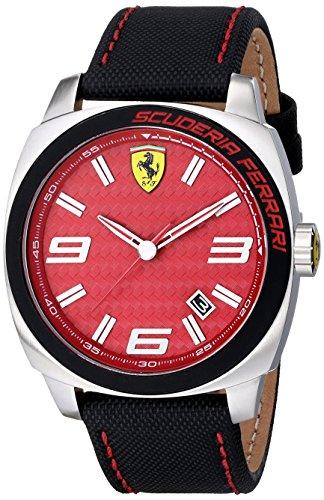 Ferrari De los hombres Scuderia Analógico Casual Cuarzo Reloj 0830164