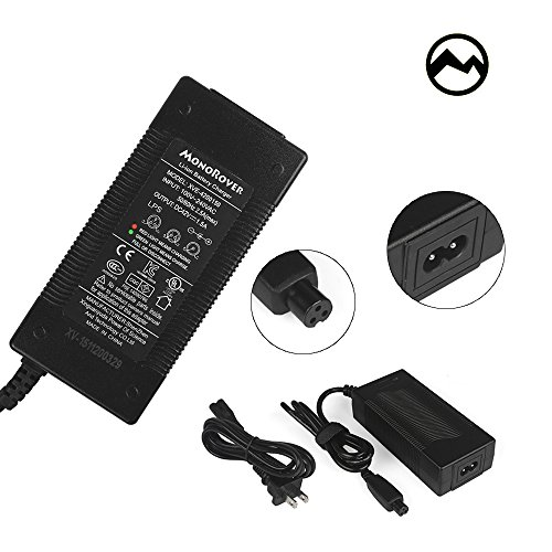Purchase MonoRover Universal Battery Charger, UL2722 Certified, 42V 2A AC Power Supply for Self Bala...