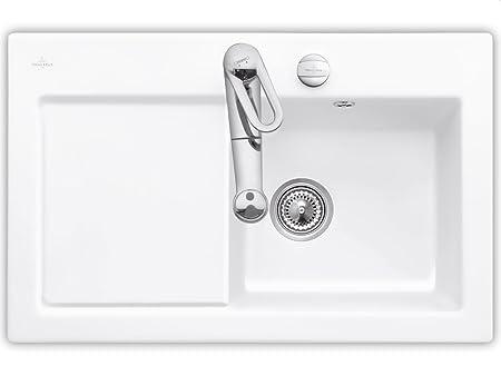 Villeroy & Boch Subway 45Edelweiss Ceramic Sink Sink Kitchen Sink, White