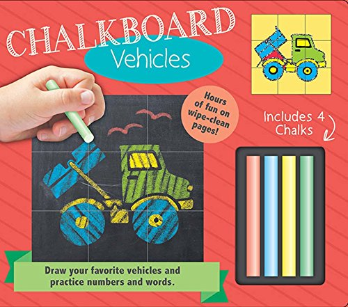 Bendon Chalkboard Learning Board Book - Vehicles