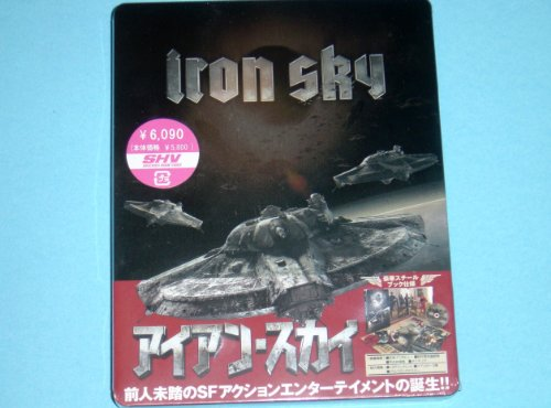 Iron Sky Japan Rare Blu-Ray + DVD Steelbook Edition Out Of Print & Region Free (Iron Sky Blu Ray compare prices)