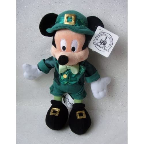Disney Parks Limited Edition St. Patrick's Day Leprechaun Mickey Mouse