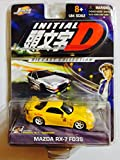 Jada Toys 1/64 Scale Diecast Initial D Series Mazda Rx-7 Fd3s in Color Yellow