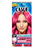 The no commitment, semi-permanent formula is extremely versatile from full head colour;to dip dye or just a top up or you colour, this neon pink shade is for you. We recommend LIVE Color XXL HD Ultra Brights Shocking Pink 93 for: • Bleached, Lightene...