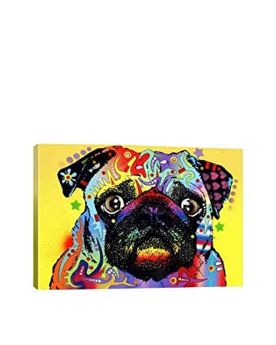 Dean Russo Gallery Pug Canvas Print