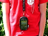 Waterproof, All Weather Zip Case with Lanyard for Blackberry Bold 9780 phone.