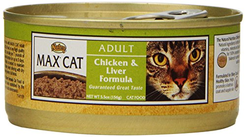 Nutro MAX CAT Adult Chicken And Liver Formula