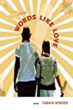 img - for Words Like Love (West End Press New Series) book / textbook / text book