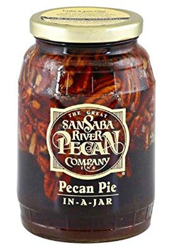 The Great SanSaba River Pecan Company 22-oz. Pecan Pie In A Jar (San Saba Pecan Pie In A Jar compare prices)
