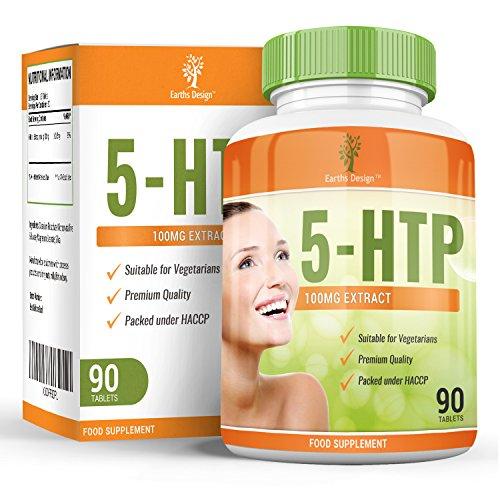 5 HTP, Triptofano, Sonnifero naturale che favorisce un sonno salutare, aumentando naturalmente i livelli di serotonina. Aiuta a combattere depressione ed ansia - 90 capsule