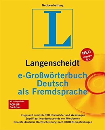 e-Großwörterbuch Deutsch als Fremdsprache 5.0