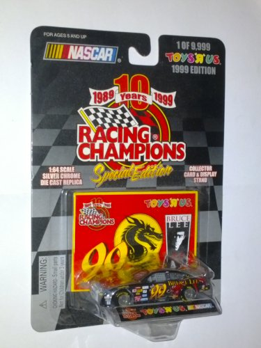 "NASCAR Racing Champions 1989-1999 10th Anniversary Special Edition Bruce Lee Toys ""R"" Us Exclusive 1 of 9,999 1:64 Scale Die Cast Vehicle - 1"