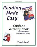 img - for Reading Made Easy Student Activity Book Three: A student workbook for Reading Made Easy book / textbook / text book