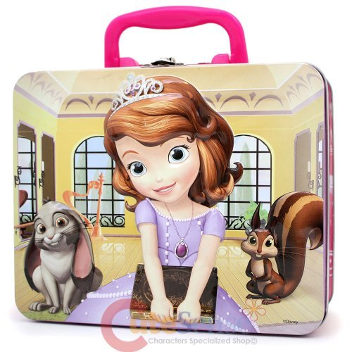 Cardinal Games Disney 66349 Sofia Puzzle Tin With Handle