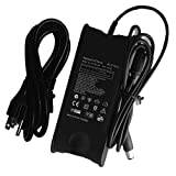 Dell Ac Adapter Laptop Charger for Dell INSPIRON, XPS, Studio, Latitude, Vostro, P/N PA-10 PA10 90w 90 watt Portable Charger for Laptop Notebook Computer Battery Charger Power Supply Cord Plug