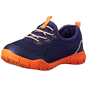 Carters - Fantasy-C (Toddler/Little Kid) (Navy/Orange) Boy's Shoes
