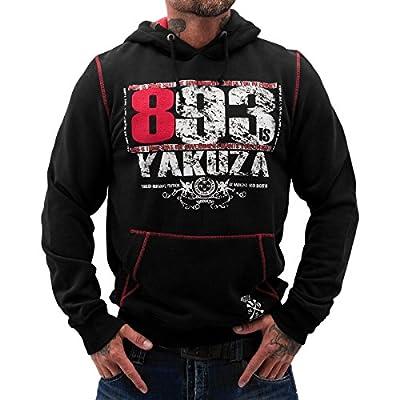 Yakuza ORIGINAL Hoodie HOB 626 - schwarz