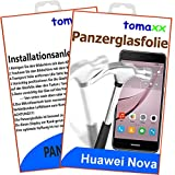 tomaxx Huawei Nova Panzerglas Panzerglasfolie - Glasfolie