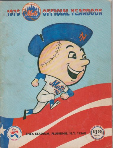 1976 New York Mets Official Yearbook at Amazon.com