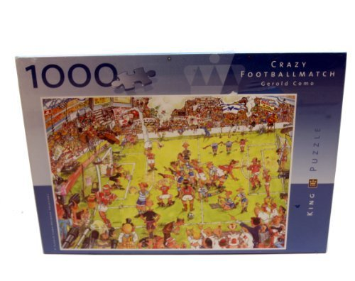Crazy Football Match Gerald Como King Puzzle by King Puzzle