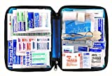 First Aid Only All-purpose First Aid Kit  Soft Case with Zipper  299-Piece Kit  Large  Blue