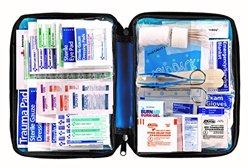 299-Piece All-purpose Blue First Aid Kit in soft Case