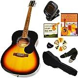 セピアクルー アコースティックギター 初心者セット FG10 VS ブラウン 9点入門セット