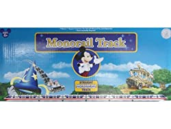 Straight Track Accessory for Disney Theme Parks Battery-operated Monorail Playset