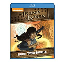 The Legend of Korra - Book Two: Spirits [Blu-ray]