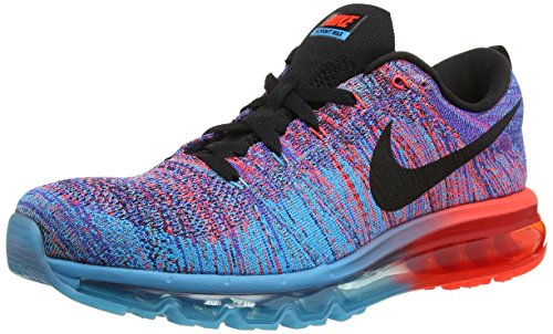7e7fbd7ec365 NIKE FLYKNIT MAX BLUE LAGGON MEN S RUNNING SHOES-620469-401-SIZE-9