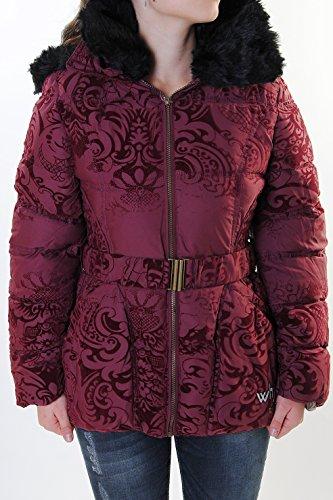 Desigual Damen Winterjacke ROCIO weinrot 46E2925/3082