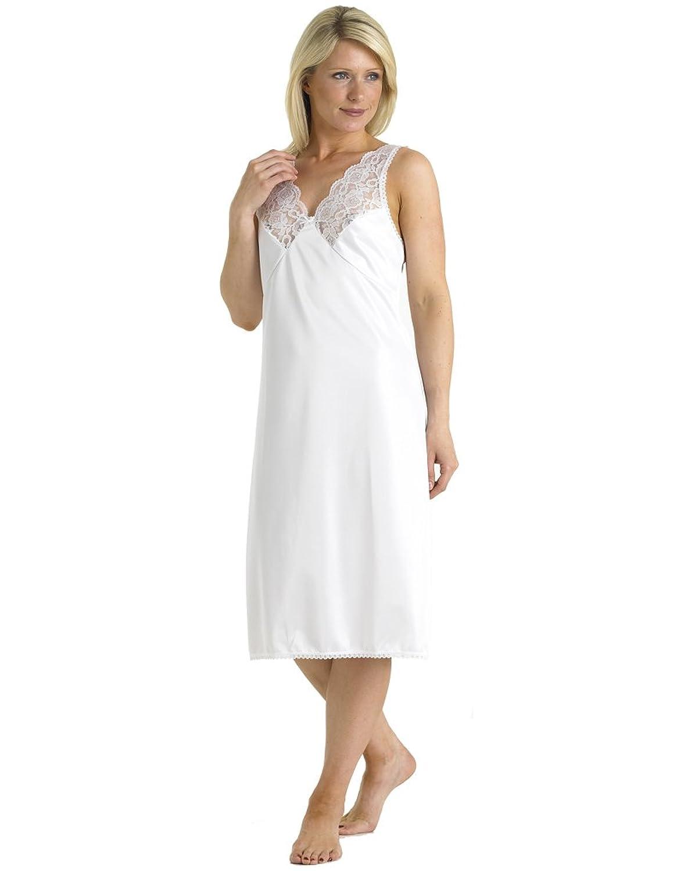 Slenderella Kayser Slip mit Spitze in Weiß, Länge 41″ KB720 jetzt kaufen