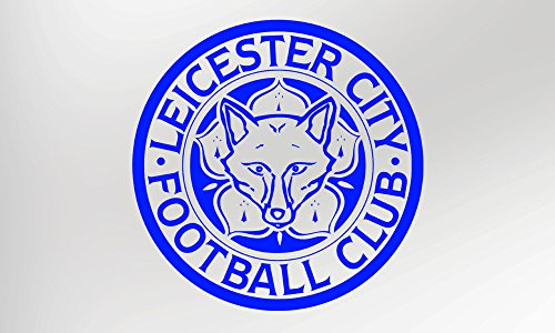 Leicester City Football Club Badge - Vinyl Decal Sticker by Wear Graphics