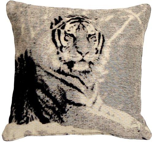 Pillow Decor - Tiger 17x17 Decorative Pillow