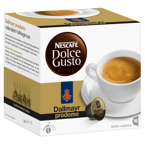 Shop for Nescafé Dolce Gusto Dallmayr prodomo, 16 Capsules from Nescafé